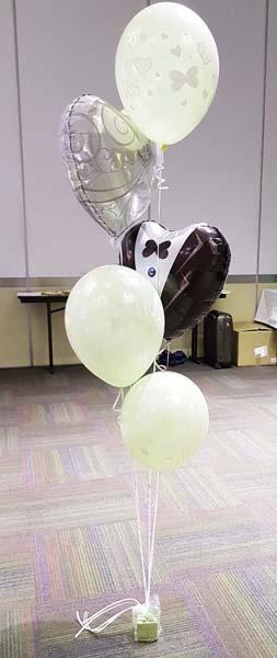 Globos de helio para bodas