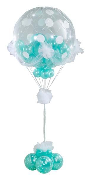 Decoración con globos de helio