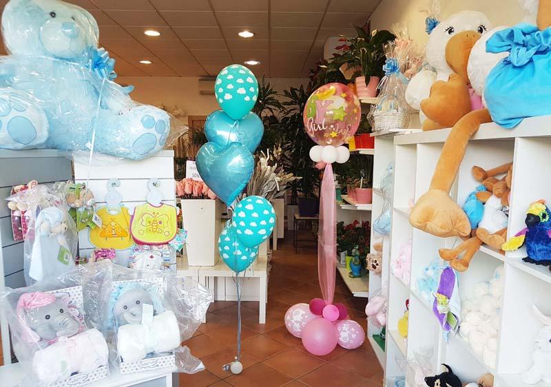 Decoración de fiesta infantil con globos