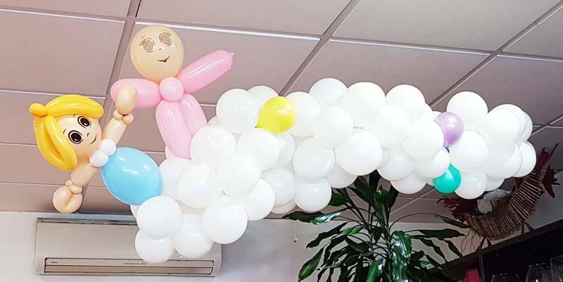 Fiesta infantil globos de helio