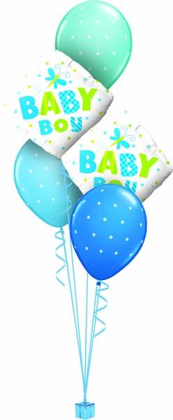 Globos de helio para niño
